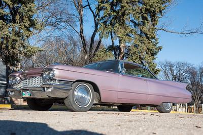 DAVID LIPNOWSKI / WINNIPEG FREE PRESS  Delores and Ralph Gammelseter's 1960 Cadillac.  For Classic Cruising