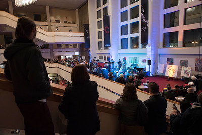 DAVID LIPNOWSKI / WINNIPEG FREE PRESS   Hip Hop artists perform prior to a performance by Nereo Eugenio II and Simon Miron with the Winnipeg Symphony Orchestra performing Symphonie Fantastique on Tuesday, October 18, 2016 at the Centennial Concert Hall.