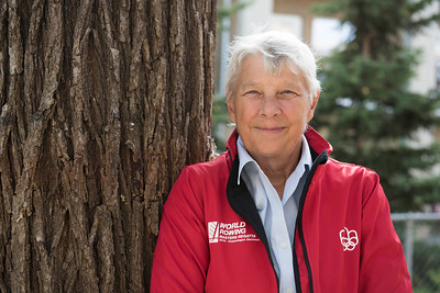 DAVID LIPNOWSKI / WINNIPEG FREE PRESS  1976 Olympic rower and trailblazer for women in sport, Sandra Kirby, poses for a portrait Friday September 23, 2016. She's just back from the 2016 Masters regatta in Copenhagen, where she reunited with other rowers from the 1976 Olympics in one boat.