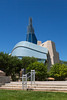 The Canadian Museum for Human Rights at The Forks in Winnipeg, Manitoba, Canada.