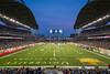 The Investors Group Field stadium in Winnipeg, Manitoba, Canada.