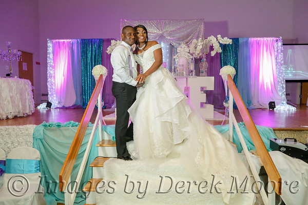 Winston & Lucretia Wedding Reception