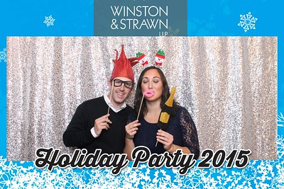 Winston & Strawn Holiday Party 2015