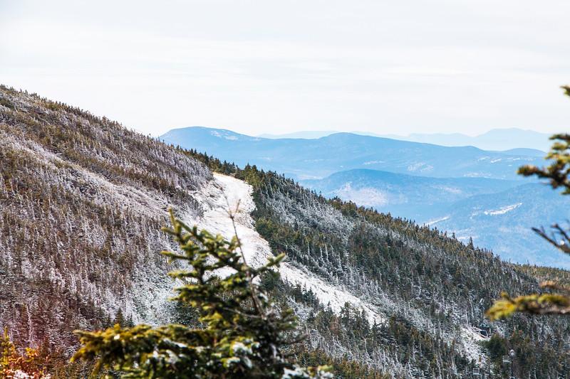 Steep Terrain at Saddleback Mountain