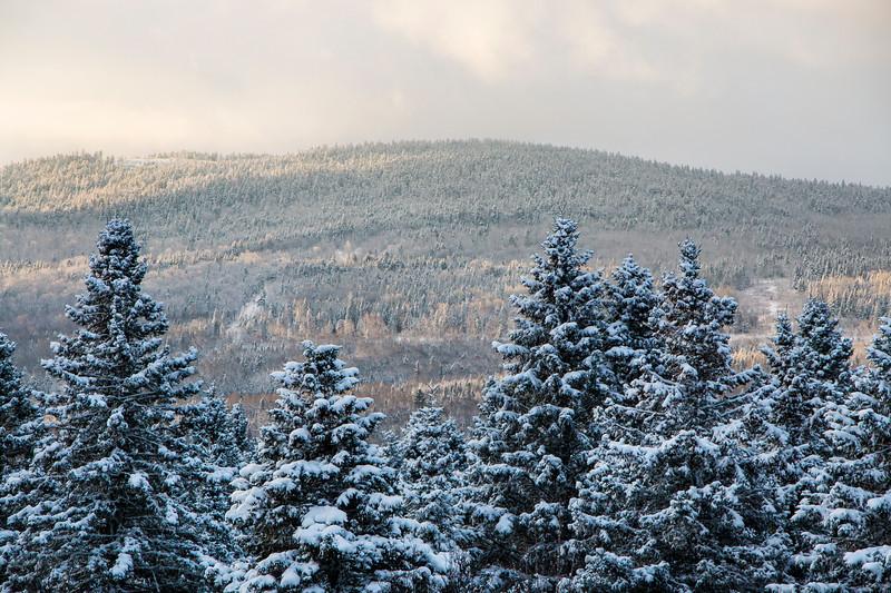 Winter in Rangeley