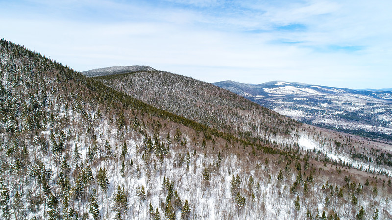 Western Mountains of Maine in Winter