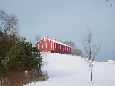 Dec Snow, Barn, Somerset and Bridges