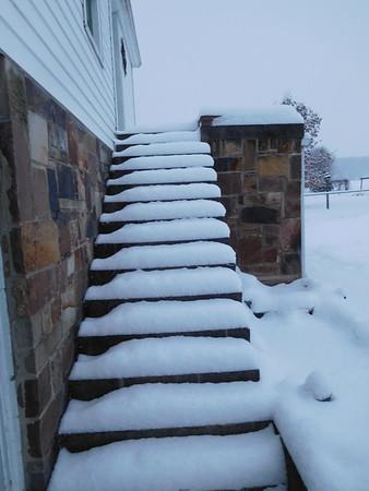 Laurel Ridge and Home Late December Snow