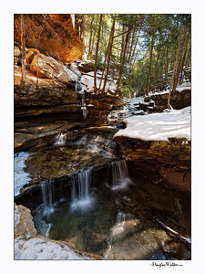 "Hocking Hills, Ohio ""Old Man's Cave"" Falls"