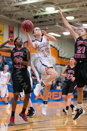 Wheaton College Women's Basketball vs North Central, December 7, 2016