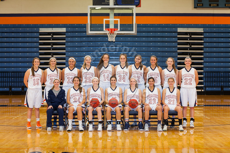 Wheaton College 2016-17 Women's Basketball Team