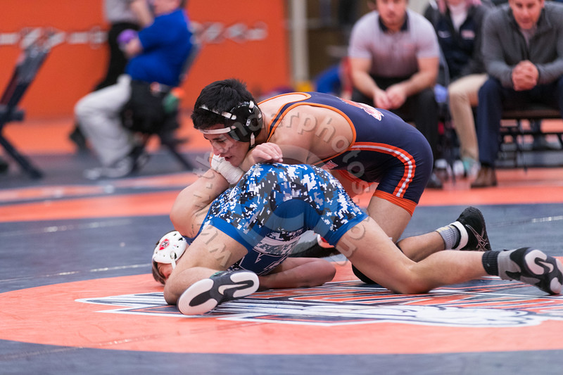 2017 CCIW Wrestling Tournament at Wheaton College