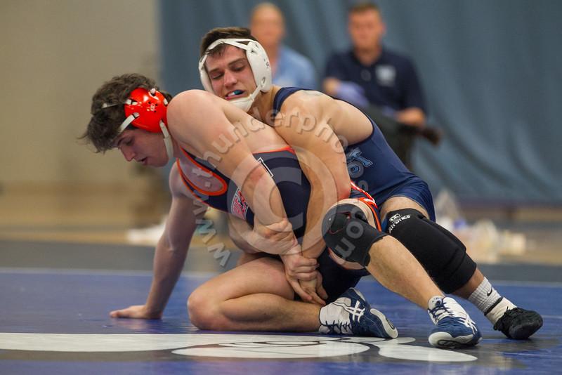 Wheaton College Wrestling at Elmhurst College (6-35)