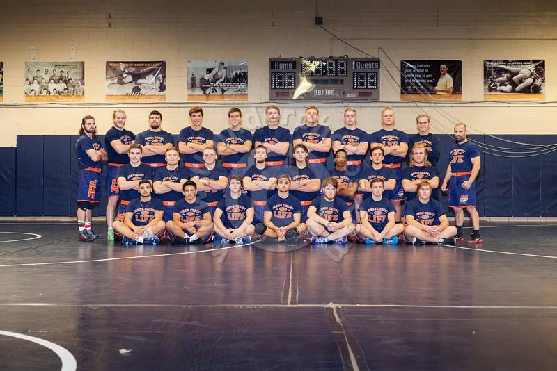 Wheaton College 2016-17 Wrestling Team