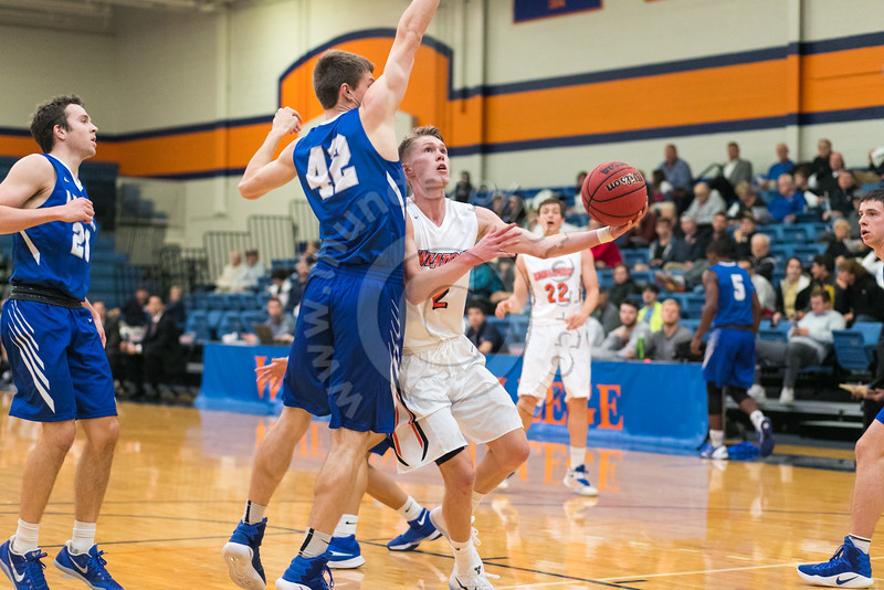 Wheaton College vs Luther (64-51)/ Lee Pfund Classic