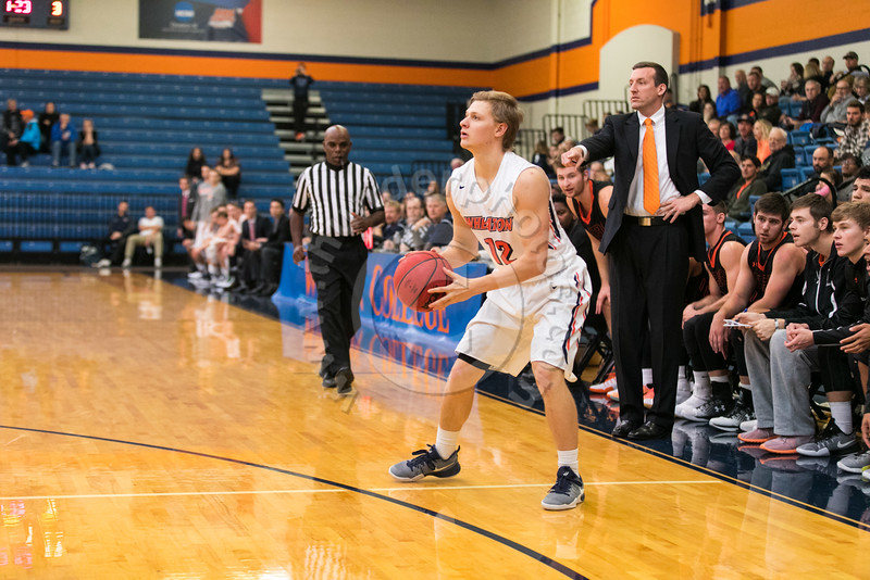 Wheaton College Men's Basketball vs Heidelberg University (79-69)/ Lee Pfund Classic Championship Game