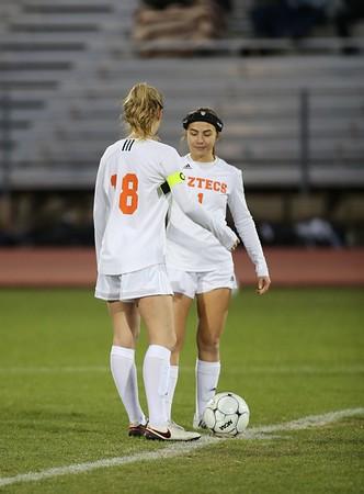 Vasity girls soccer vs DV