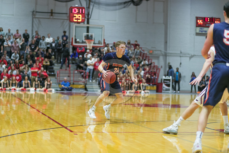 Wheaton College Men's Basketball at North Central (66-75)