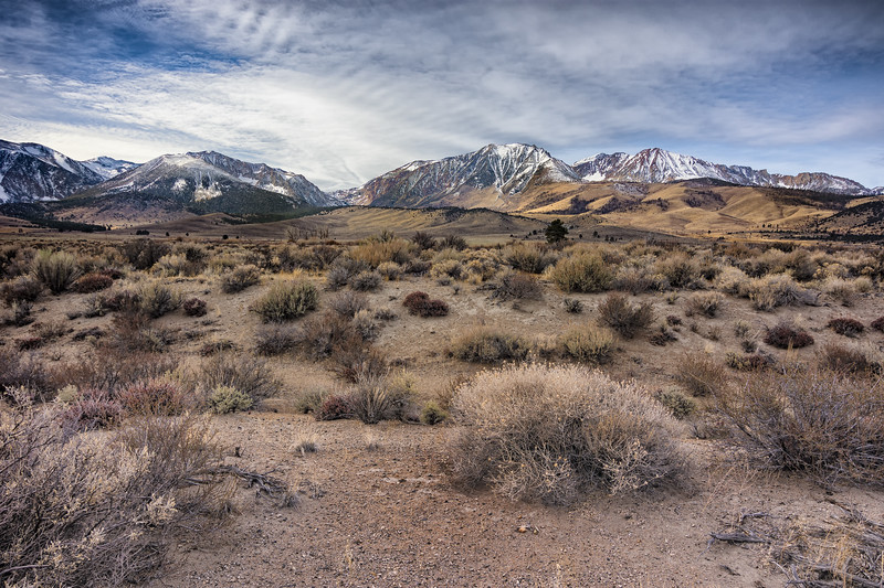 East side Sierra Nevada, 23 December 2017.