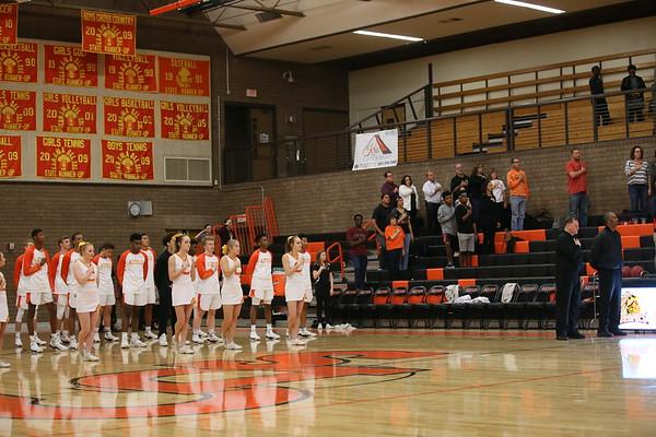 Varsity Basketball  vs Desert Ridge