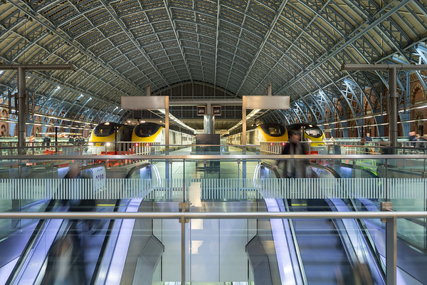 St Pancras International arrivals