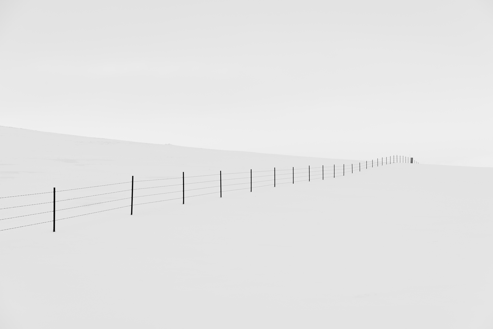 Fence in Snow 2.1