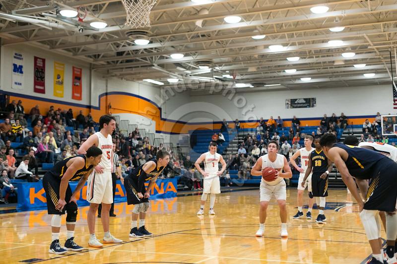 Wheaton College Men's Basketball vs Augustana (73-77)