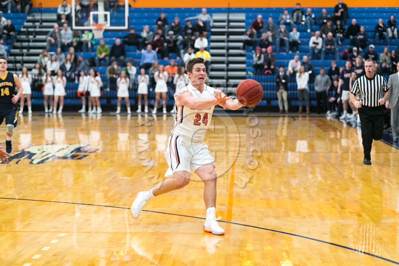 Wheaton College Men's Basketball vs Augustana (73-77)