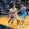 Wheaton College Men's Basketball vs Elmhurst (85-75)/ CCIW Tournament, First Round