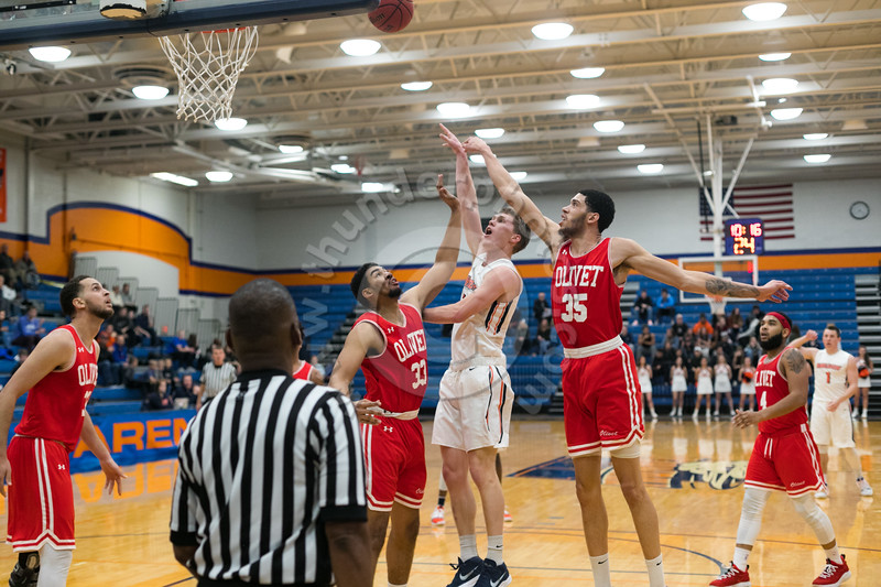 Wheaton College Men's Basketball vs Olivet Nazarene (92-81)