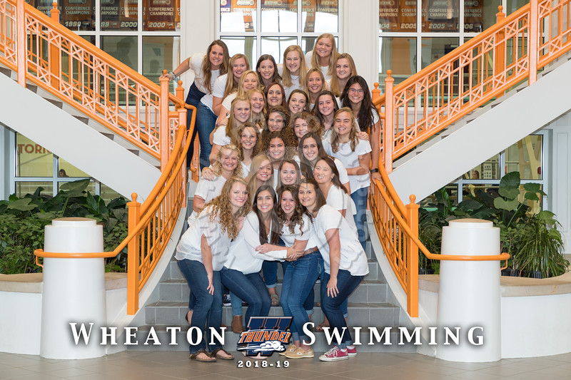 Wheaton College 2018-19 Swim Teams