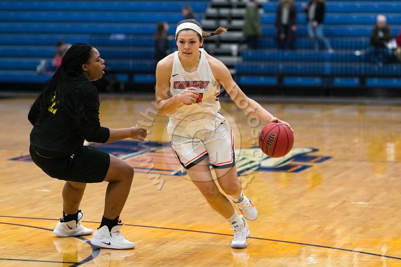 Wheaton College Women's Basketball vs North Park University (62-57)