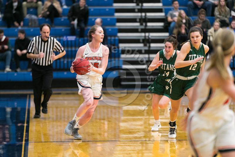 Wheaton College Women's Basketball vs IL Wesleyan (68-69), CCIW Tournament Championship Game