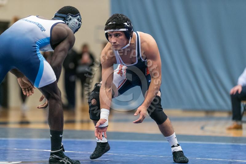 Wheaton College Wrestling at Elmhurst College (22-30)