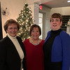 From left, Claudia Antolini of Chelmsford, Diane Matte of Hudson and Meg Lemire Berthel of Nashua