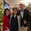 From left, Tarina Mansur of Westford, Dr. Mariana Chemaly of Chelmsford, and Jody White of Tyngsboro, president and CEO of Circle Health and LGH