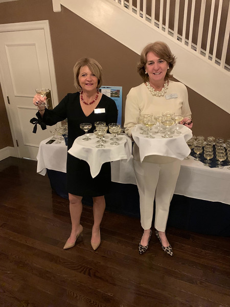 LGH Auxiliary's Deborah Lemos of Chelmsford and Trish O'Donnell of Lowell