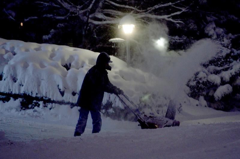 Boulder County Winter Blast on Jan 5, 2017