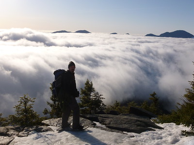 Above the clouds on Zeacliff