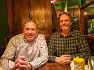 Steve Keating and I