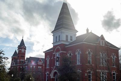 Hargis Hall and Samford Hall, Auburn University