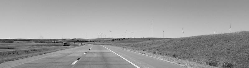 I-70 W in Kansas