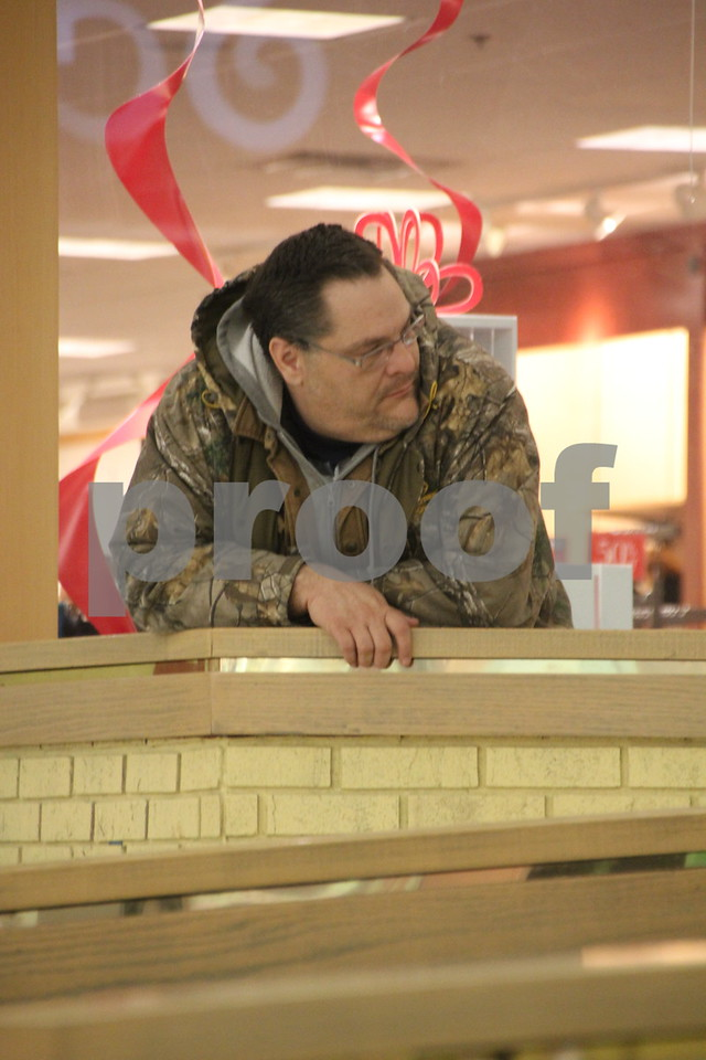 The Winter Craft and Vendor Show took place at Crossroads Mall in Fort Dodge on Saturday, December 19, 2015. Pictured here is : Dave Clark.