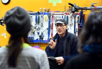 Winter Cycling Class at Community Cycles in Boulder