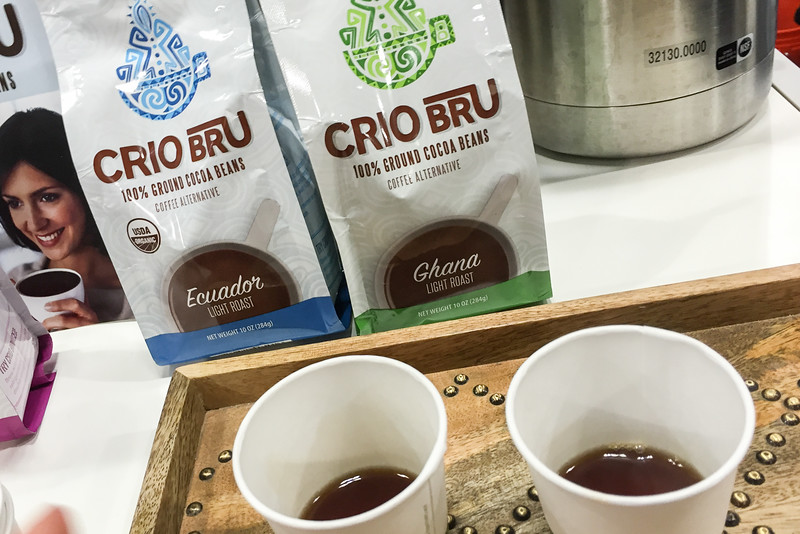 Crio Bru ground cocoa beans, Winter Fancy Food Show
