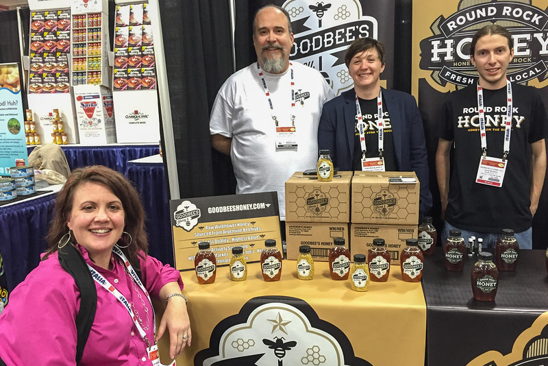 Round Rock Honey at the Winter Fancy Food Show in San Francisco