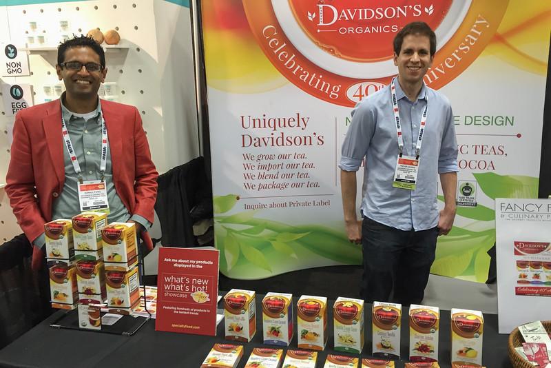 Davidson's Tea, Winter Fancy Food Show