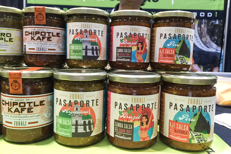 Global flavors of salsa - Winter Fancy Food Show 2016, San Francisco