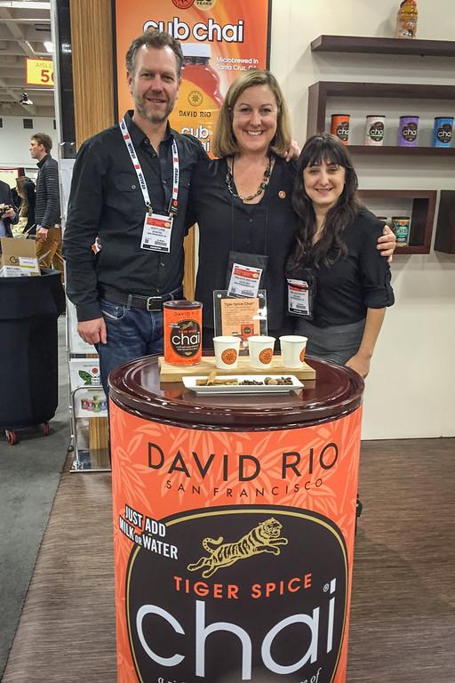 David Rio Chai Tea, Winter Fancy Food Show