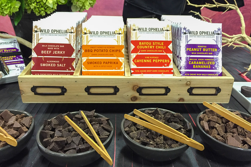 Unique chocolate flavors - Winter Fancy Food Show 2016, San Francisco